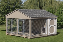 10x10 Double Dog Kennel
