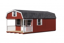 12x16 Dutch w/ 6ft Porch