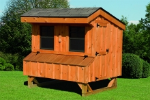5x6 Board & Batten Chicken Coop